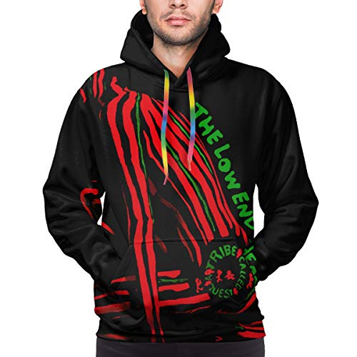 A Tribe Called Quest The Low End Theory Mens Sweatshirt Pullover Hoodie with Pocket 3D Print Fleeces Black