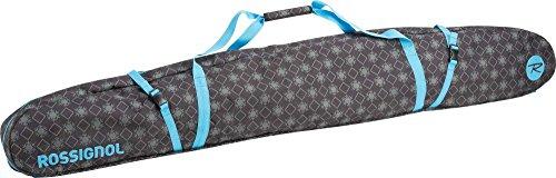 Rossignol Electra Clamshell Ski Bag 180 Bolsa Porta ESQUIS, Mujer, Negro, Talla Única