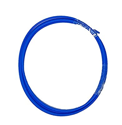 AMX3d Colored Bowden Tube - 2.0 Meters (6.6 ft) Blue Bowden - PTFE TeflonTube for 1.75 Filament (2.0mm ID/4.0mm OD +/- .01mm)