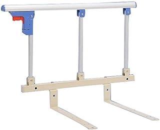 折りたたみ式ベッドレール病院医療支援装置高齢者用ナイトレールベッド手すりガードレール、ほとんどのタイプのベッドに適した安全折りたたみ式手すり(色:B、サイズ:L62