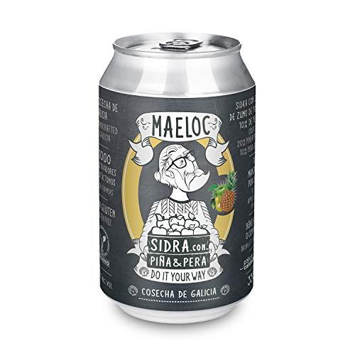 Maeloc Sidra con Piña Pera Lata - 330 ml