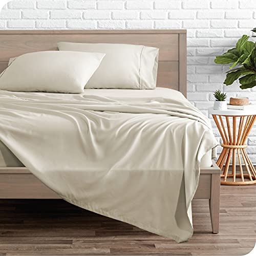 Bare Home Queen Sheet Set - 1800 Ultra-Soft Microfiber Queen Bed Sheets - Double Brushed - Queen...