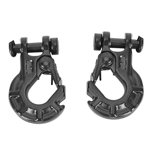 Zouminyy 2PCS Metal Winch Hook 1/10 Trailer Hook para RC-4WD Warn Remote Control Model Vehicle Accessory