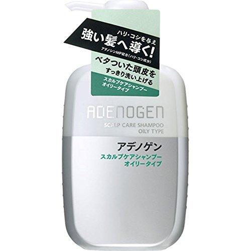 Adenogen Scalp Care Shampoo Oily - 400ml (Green Tea Set)