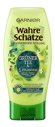Garnier Wahre Schätze Grüner Tee & 5 Pflanzen vitalisierende Spülung 200 ml