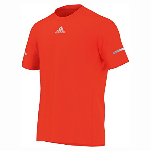 Adidas - T-shirts et polos - T-shirt Running Sequencials Climalite - Solar red - 2XL