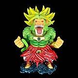 Figuras De Anime Dragon Ball Z Great Ape Broli Figura De Acción con Caja 15Cm, Estatuas De PVC Juguetes Modelo Colecciones Regalo De Cumpleaños para Niños