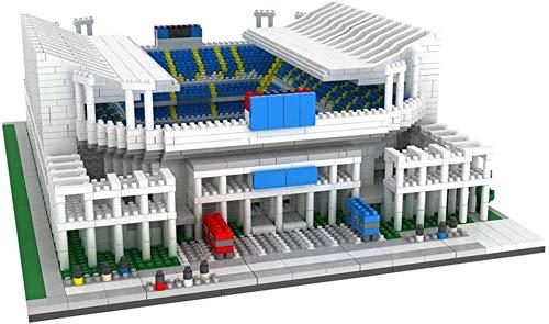 XINTONGSPP Zona de Juegos 3D Puzzle, Málaga Rosaleda Estadio Modelo, Montaje de Juguetes Hechos a Mano / 11 Pulgadas x 10 Pulgadas x 3,2 Pulgadas