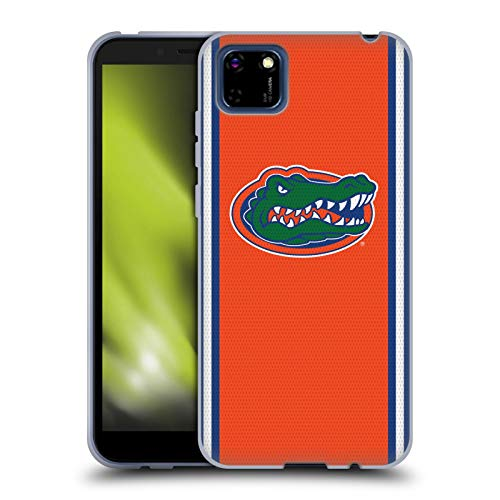Head Case Designs Officially Licensed University of Florida UF Football Jersey Soft Gel Case Compatible with Huawei Y5p / Honor 9S