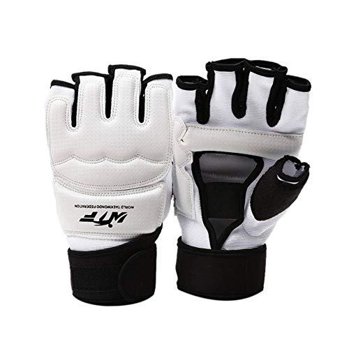 Dadahuam MMA Handschuhe, Boxkampfhandschuhe MMA Mitts mit verstellbarem Armband, Halbe Fingerhandschuhe Sparring Handschuhe Training Kickboxen Muay Thai Schlagen Kampf Mixed Martial Arts