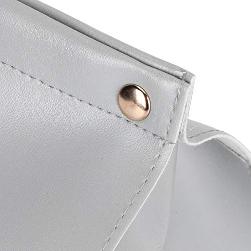 Eosnow Cubierta para Caja de pañuelos, 20x12x12.5cm / 7.9x4.7x4.9in, Contenedor dispensador de servilletas, Decoración para Autos