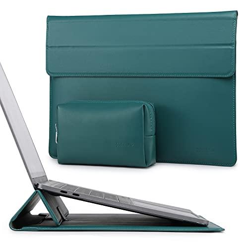 HYZUO 13 Pulgadas Funda Protectora para Portátiles con Función de Soporte Compatible con MacBook Air 13 M1 2018-2021/MacBook Pro 13 M1 2016-2021/iPad Pro 12,9 2021/Dell XPS 13/Surface Pro X 7 6 5 4 3