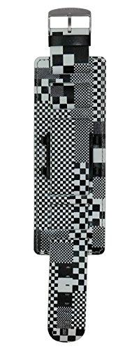 Armband Herrenarmband Jack Smart Pixel City - S.T.A.M.P.S. Armbänder schwarz weiß