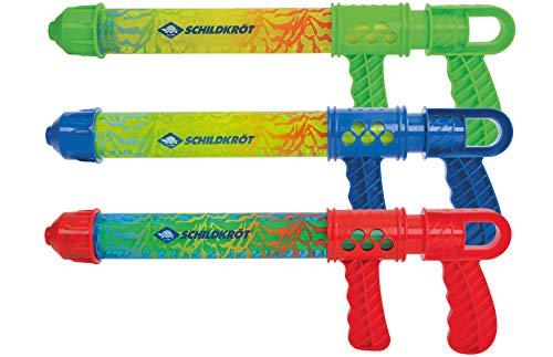 Schildkröt Wasserspritze Aqua Blaster, 300 ml Wassertank, 40cm lang, Riesen-Spaß für Jung und Alt, bis zu 8 Meter Reichweite, 970236