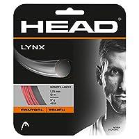 ヘッド(HEAD) テニスガット リンクス(LYNX) レッド 1.25 単張りガット 281784 0 0