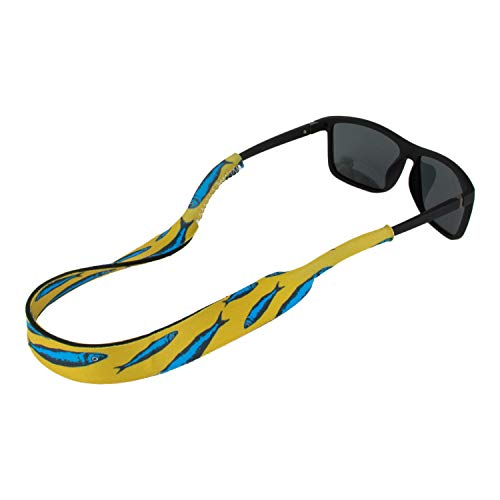 Ukes Premium Sunglass Strap - Durable & Soft Eyewear Retainer Designed with Floating Neoprene Material - Secure fit for Your Glasses and Eyewear. (The Baits)