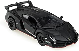 Lamborghini Veneno 1/36 Matt Black