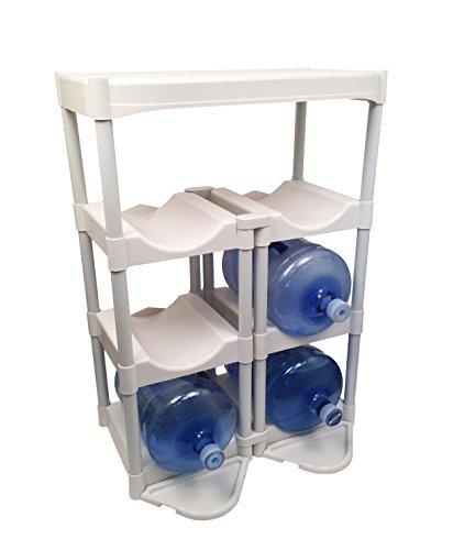 Bottle Buddy Complete Storage System, White