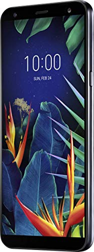 LG K40 Smartphone (14, 48 cm (5, 7 Zoll) LC-Bildschirm, 32 GB interner Speicher, 2GB RAM, MIL-STD-810G, Android 8.0) Aurora Black