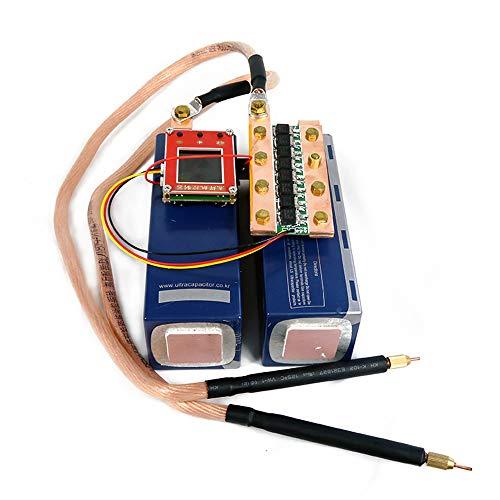 Mini máquina portátil de soldadura por puntos DIY y juego de bolígrafos para soldar batería 18650