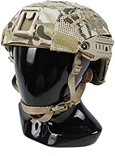 The Mercenary Company Mesh Helmet Cover Compatible with Air Frame and Similar Helmets (Multicam)