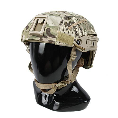 The Mercenary Company Mesh Helmet Cover for Crye AirFrame and Similar Helmets Multicam