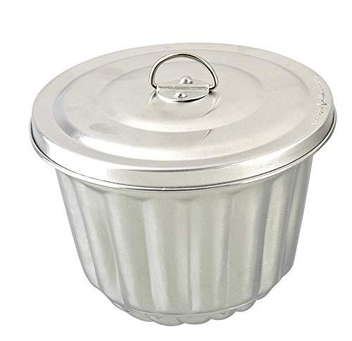 Patisse Wasserbadform Aluminium mit verschließbarem Deckel Inhalt 1,2 l