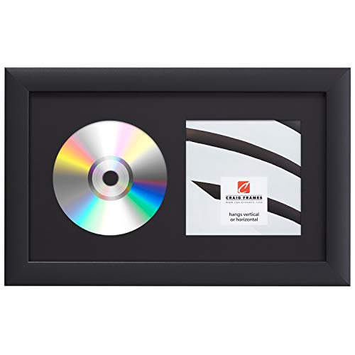 Craig Frames 7x12 Black CD Display Mat Complete w/ 1