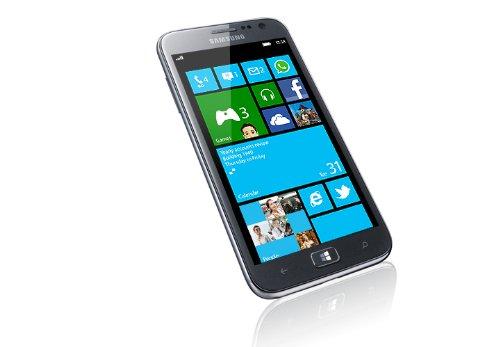 Samsung GT-I8750ALADBT ATIV S Smartphone (12,2 cm (4,8 Zoll) Super AMOLED Display, 8 Megapixel Kamera, Full-HD, Win 8) Aluminium silber
