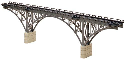 "Faller 222581 Deck STL Arch Bridge N Scale Building Kit, 16"""