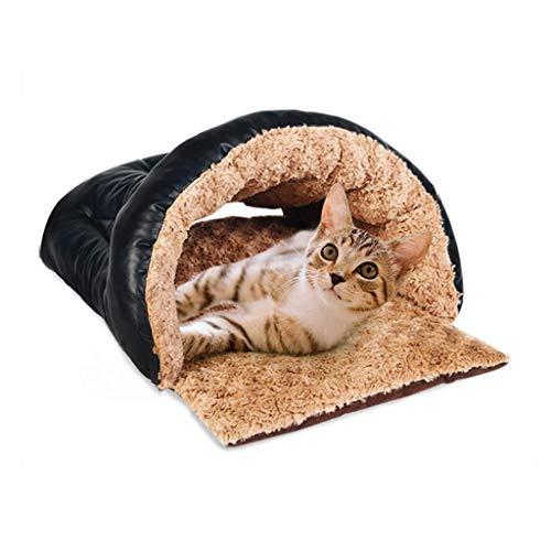 Dirgee Bolso para Dormir del Gato, Nido de Mascotas, Cama para Mascotas, Sala de Gatos, Cuatro Estaciones, Estera de la Basura para Gatos, Cuarto de Gato de Gato (Tamaño: 32 * 42 * 62cm)