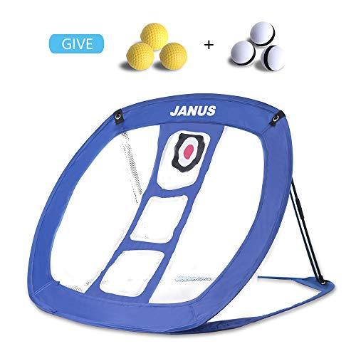 JANUS Golf Chipping Net - golf cornhole golf nets for backyard driving,Golf Practice Net for Indoor/ outdoor golf game,golf accessories for men and women