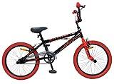 20' 20 Zoll Kinder Bike Rad Jugend Fahrrad Rad BMX KINDERFAHRRAD JUGENDFAHRRAD Freestyle 360° Rotor 4 Pegs Unisex Amigo Extreme Schwarz Rot