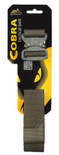 "Helikon-Tex Urban Line, Cobra Tactical Belt FC45 Olive Green, Up to 40 Pants Size / 51"" Belt Length"