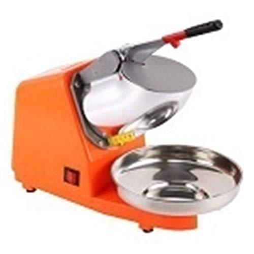 RJJX Home HD109 Bar Mini Ice Shaver Eiszerkleinerungsmaschinemaschine Electric (Color : Orange)