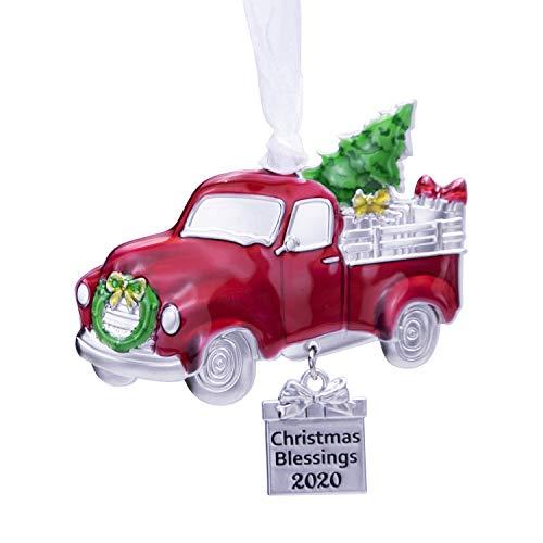 LARAINE Christmas Tree Ornaments – 2020 Decorative Hanging Pendant of Car Charm Holiday Keepsake Gift Home Decor (Car)