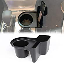 RT-TCZ Insert Cup Holder Organizer,Cup Groove Storage Box,Cell Phone Holder,Drink Bottle Mount Stand, Multifunction Box for 2011-2019 Jeep Grand Cherokee