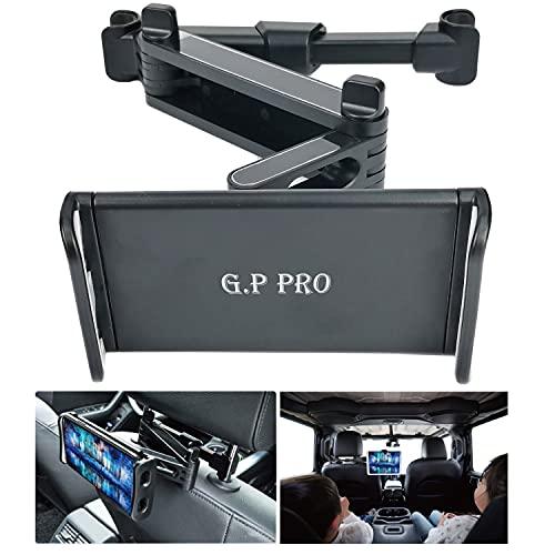 最新版 後部座席 タブレット ホルダー 車載ホルダー 伸縮 アーム 日本語説明書&取付動画あり iPad スマホ