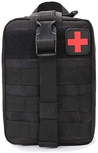 ANNI DESIGNER Kit de primeros auxilios táctico de supervivencia Molle Rip Away EMT bolsa IFAK Medical (solo bolsa)