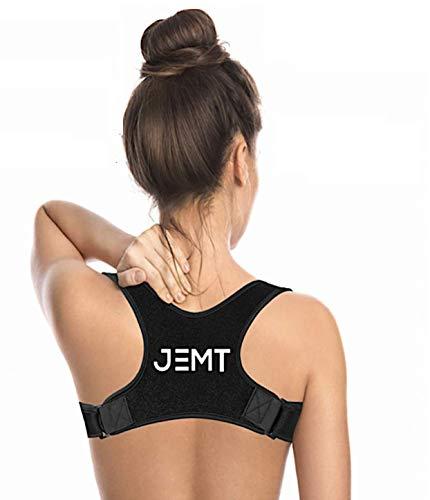 JEMT 3.0 Geradehalter zur Haltungskorrektur Haltungskorsett, Rücken Herren Damen, Rückentrainer Rückenstütze Schultergurt Haltungstrainer für Nacken Schulterschmerzen, Rückenstabilisator