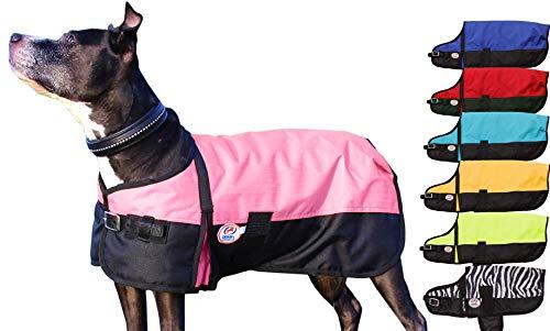 Derby Originals Horse Tough 600D Ripstop Waterproof Winter Dog Coat 150g Medium Weight