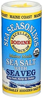 Sea Salt with Sea Veg - Sea Seasonings Shaker - Organic
