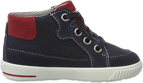 Superfit Baby Jungen Moppy  Lauflernschuhe Sneaker,  Blau (Blau/Blau 80),  27 EU