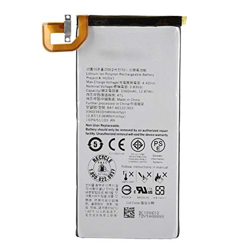 KSTE Ersatz-Akku, 3360 mAh, hohe Kapazität, Für BlackBerry Priv STV-100