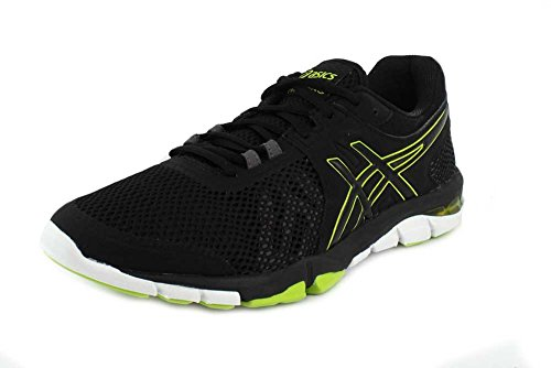 ASICS Mens Gel-Craze TR 4 Black/Neon Lime Cross Trainer - 9