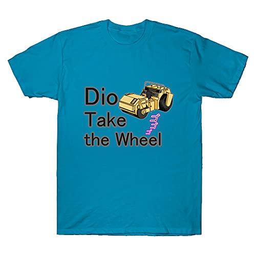 Happy Stone Dio Take The Wheel Road Roller JoJo T-Shirt Hoodie Customized