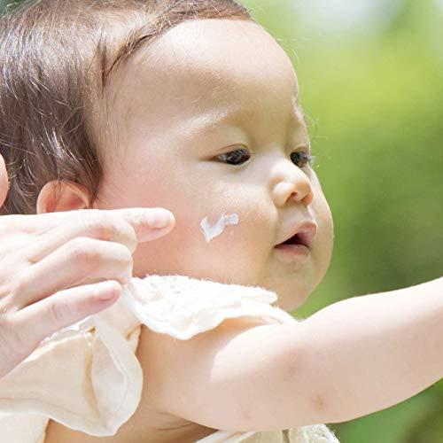 babybuba(ベビーブーバ)オーガニックベビーUVクリームUVミルクUVプロテクトフェイス&ボディ日焼け止めSPF50+紫外線吸収剤不使用日本産全身50g【2本セット】
