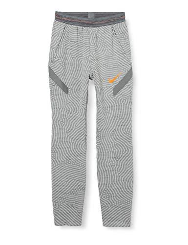 Nike Jungen B NK Dry STRKE Pant KP NG Sport Trousers, Smoke Grey/Htr/Smoke Grey/(total orange), L