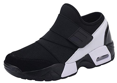 wealsex Basket Sport Scratch Air Réspirant Chaussures Course Fitness Jogging Gym Femme Homme Unisex Taille 36-44