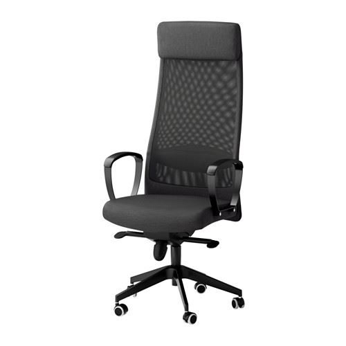 Markus–Silla de oficina giratoria, Vissle, color gris oscuro